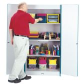 Rainbow Accents Classroom Closet Deluxe - Teal - Teachers
