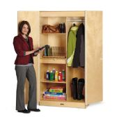 Jonti-Craft Wardrobe Closet Deluxe - Teachers
