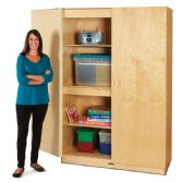 Jonti-Craft Wide Storage Cabinet - Teachers