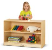 Jonti-Craft® Short Fixed Straight-Shelf Bookcase - Storage
