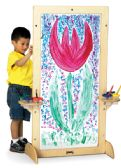 Jonti-Craft® See-Thru Easel - Art
