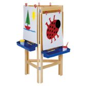 Jonti-Craft® 3 Way Adjustable Easel - Art