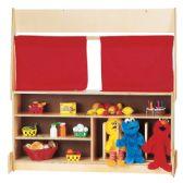 Jonti-Craft® Imagination Station Curtains - Dramatic Play