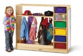 Jonti-Craft® Dress-Up Storage – with Colored Tubs - Dramatic Play