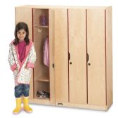 Jonti-Craft 5 Section Lockers with Doors - Cubbies