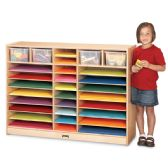 Jonti-Craft® Mobile Paper Center  - Art