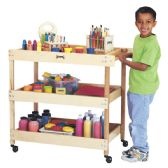 Jonti-Craft® Utility Cart - Art