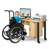 Jonti-Craft® Single Computer Lab Table - STEM