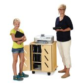 Jonti-Craft Laptop and Tablet Storage Cart - Teachers