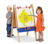 Jonti-Craft® Toddler Adjustable Easel - Art