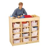 Jonti-Craft 12 Tub Changing Table with Pad - Toddlers Infants
