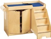 Jonti-Craft Changing Table - with Stairs - Right - Toddlers Infants