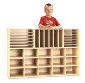 Young Time Sectional Cubbie Storage - without Trays - RTA - Young Time