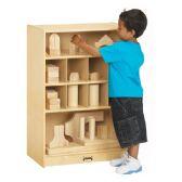 Jonti-Craft® Block Shelf - Block Play