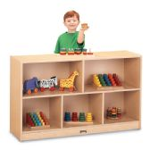 MapleWave Low Single Mobile Storage Unit - Block Play