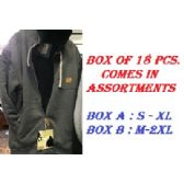 18 Units of Adult Hoodie Sweatshirt In Size M-2XL - Mens Sweat Shirt