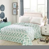 12 Units of Arrow Micro Plush Blankets - Full Size Light Green Only - Micro Plush Blankets
