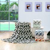 12 Units of Arrow Micro Plush Blankets - Twin Size Assorted Colors - Micro Plush Blankets