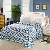 12 Units of Arrow Micro Plush Blankets - Twin Size Navy Only - Micro Plush Blankets