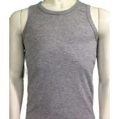 36 Units of Boys Tank Top Size 1-3 In Assorted Colors Green/Black/Grey