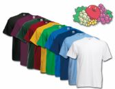 72 Units of Fruit Of The Loom Mens 100% Cotton Assorted T Shirts, Assorted Colors Size 4XL - Mens T-Shirts