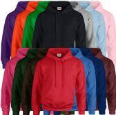 24 Units of Fruit Of The Loom Mens Hoodies Size XL - Mens Sweat Shirt