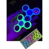300 Units of Glow in Dark Fidget Spinner--3 Colors