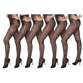 60 Units of Isadora Fashion Fishnet Tights One Size - Womens Pantyhose