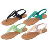 36 Units of Ladies' Fashion Sandals Size 6-11