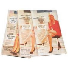 72 Units of Ladies Golden Legs Sheer Pantyhose In Nude Queen Size - Womens Pantyhose