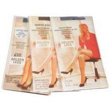 72 Units of Ladies Golden Legs Sheer Pantyhose In Suntan Queen Size - Womens Pantyhose