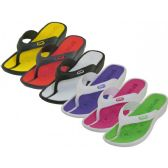 36 Units of Lady Sport Thong Sandal ( *Asst. Color ) Size 5-10