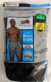 24 Units of Men's Fruit Of the Loom 3 Pack Boxer Brief (Mid Rise), Size XL - Mens Underwear