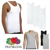 72 Units of Men's Fruit Of the Loom A Shirt, Size Large - Mens T-Shirts
