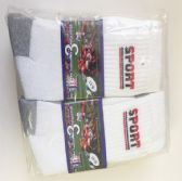 72 Units of Men soccer socks/Size 10-13 - Mens Tube Sock