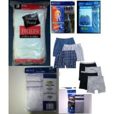 1200 Units of Mens Underwear Pallet Deal