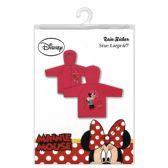 24 Units of Minnie Mouse raincoat  Size 7-8 - Umbrella