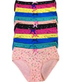 36 Units of Sheila Ladys Cotton Bikini Assorted Colors In Size XLarge