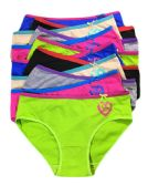 36 Units of Sheila Ladys Cotton Bikini In Size Medium Assorted Colors