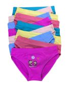 36 Units of Sophia Girls Seamless Bikini Size Medium - Girls Underwear and Pajamas