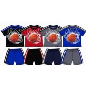 48 Units of SPRING BOYS CLOSE MESH SHORT SETS Size INFANT - Baby Apparel
