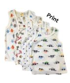 36 Units of Strawberry Boys Infant Tank Top 0-9 Months Size Embroidered - Baby Apparel