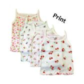 36 Units of Strawberry Girl Infant Spaghetti Strap Singlet 0-9 Months In Pastel - Girls Tank Tops and Tee Shirts