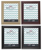 """Home Basics 10"""" x 13"""" Deluxe Solid Wood Picture Frame, Black - Picture Frames"""