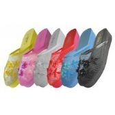 36 Units of Women's Mesh Upper With Sequin Mid-Platform Comfort Slippers ( *Asst. 6 Color ) Size 6-11