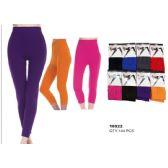 36 Units of Womens Fashion Capri Leggings Assorted Colors Sizes Large, Ex Large - Womens Leggings