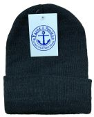 144 Units of Yacht & Smith Black Unisex Winter Warm Beanie Hats, Cold Resistant Winter Hat 144 Pack - Winter Beanie Hats