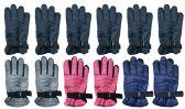 72 Units of Yacht & Smith Kids Thermal Sport Winter Warm Ski Gloves - Kids Winter Gloves