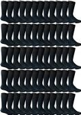 120 Units of Yacht & Smith Men's Navy Textured Dress Socks Size 10-13 BULK PACK - Mens Dress Sock